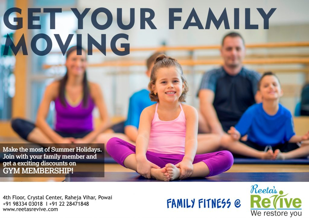 FAMILY FITNESS starting from 25th April 2017